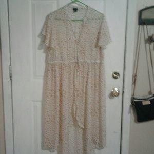 Torrid high low dress